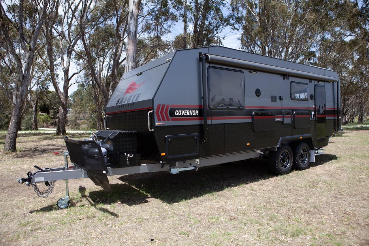Caravan Sales | Off Road Governor | Salute Caravans